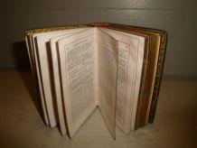 """Livres ancien """"Paroissien Romain"""" lot de 3"""
