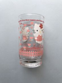 VERRE HELLO KITTY SANRIO JAPONAIS