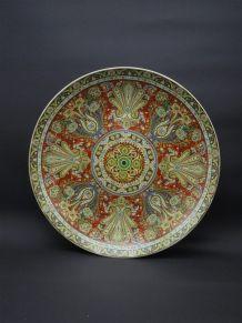 Assiette décorative chinoise
