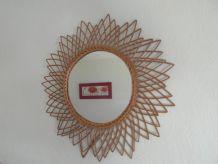 miroir en osier