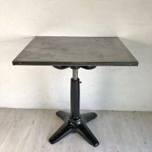 Table d'atelier vintage 50's