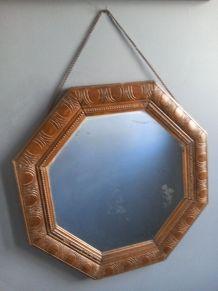 Miroir octogonal, Époque Art Déco