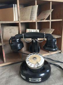 Telephone bakélite à colonne TEPRINA - 1941