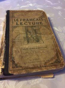 Anciens manuels de français