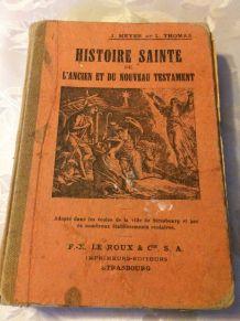 Histoire Sainte de l'ancien et du  nouveau testament