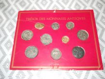 le trésor des monnaies antiques B.P 1970 présentoir