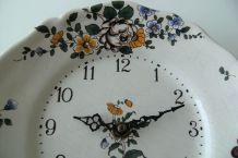 Horloge murale céramique craquelée Bouc Céram Junghans Diehl