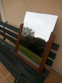 miroir en bois années 30