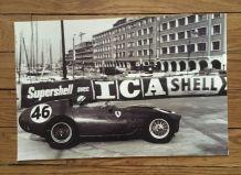 Photo Ferrari pilote Behra Grand Prix Monaco 1959