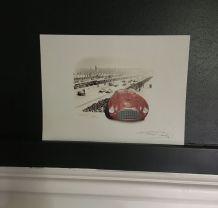 Reproduction Bruère Ferrari Le Mans 1949