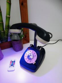 """LAMPE A POSER RECUP' """"TELEPHONE TOY 2"""""""