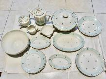 service porcelaine incomplet modele hermes