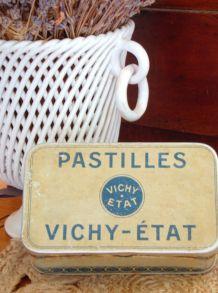 Boîte Pastille vichy 1945