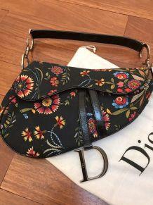 Sac à main vintage Saddle Dior