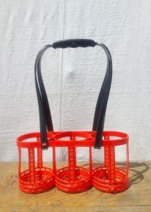 Porte bouteille en plastique de la marque Clé - Années 60/70