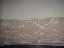 Drap ancien en coton