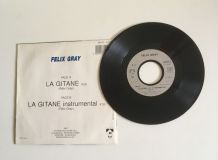 Félix Gray «La Gitane» Vinyle 45 t
