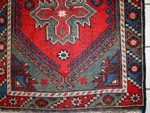 Tapis ancien Turc Anatolian fait main, 1C513