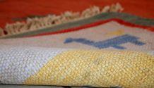 Tapis vintage Oriental fait main, 1C518