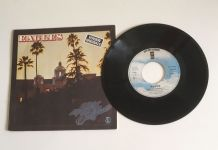 Eagles « Hotel California » Vinyle 45 t