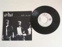 A-ha «Take on me» - Vinyle 45 t