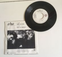 A-ha «Take on me » - Vinyle 45 t