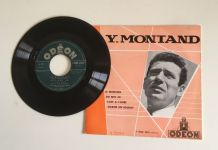 Yves Montand - Vinyle 45 t