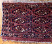 Tapis ancien Turkmène Tekke Torba fait main, 1B602
