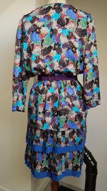 robe multicolor vintage