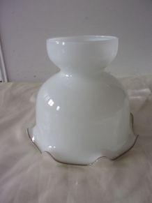 Ancienne cloche abat jour pour lampe