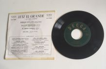 Luiz El Grande y su typica orquestra - Vinyle 45  t