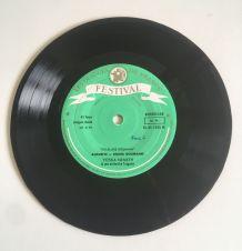 Folklores hongrois et roumain - Vinyle 45 t