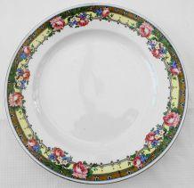 Service à dessert demi porcelaine Saint-Amand