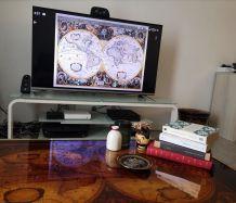 Table Basse Planisphère Hendrik Hondius