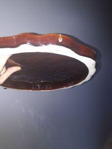 Plat à  tarte Vallauris, années 60's