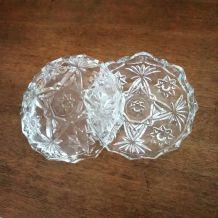 Bonbonnière, vide poche vintage en verre