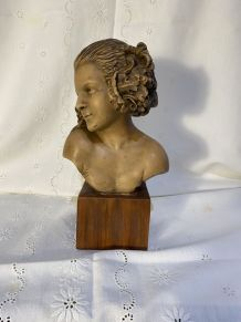 Sculpture d'une faunesse - Maxime Real Del Sarte (1888-1954)