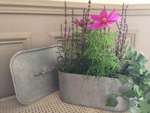 Poissonnière, bac à fleurs, jardinière ...