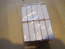 lot de 10 boites allumettes  neuve   marque red and whit