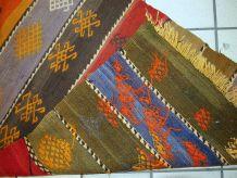 Tapis vintage Persan Sumak fait main, 1C608