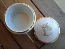 Bonbonnière porcelaine