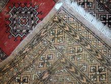 Tapis vintage Ouzbek Bukhara fait main, 1C624