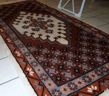 Tapis vintage Marocain Berber fait main, 1C629