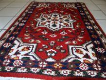 Tapis vintage Persan Hamadan fait main, 1C653