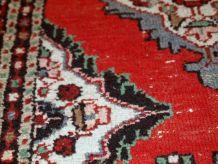 Tapis vintage Persan Karajeh fait main, 1C666
