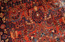 Tapis ancien Persan Sarouk fait main, 1B697