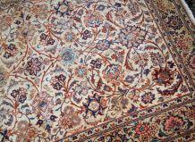 Tapis ancien Persan Kashan fait main, 1B735