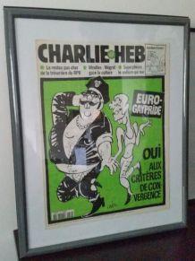 cadre CHARLIE HEBDO journal complet GAY PRIDE