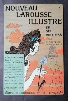 Plaque publicitaire Larousse