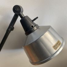ANCIENNE LAMPE ACCORDEON INDUSTRIELLE  « MIDGARD »